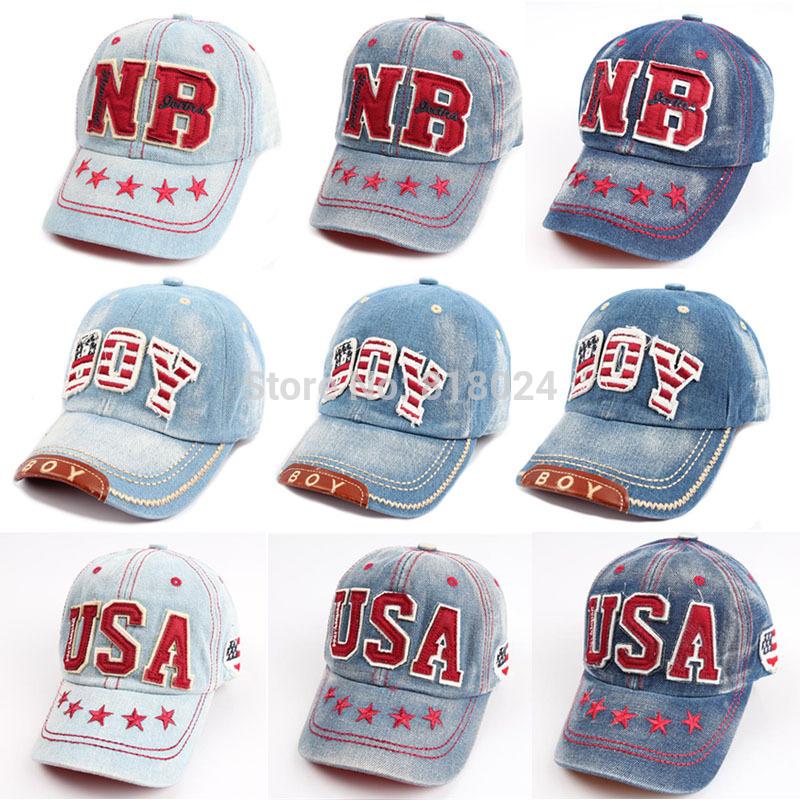 Retail! (9 Colors) promotion! 2014 hot sale new snapback adjustable letter hip-hop kids baseball hat,children peaked cap(China (Mainland))