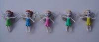 100pcs/lot  pvc angel girls cartoon figures / fairy
