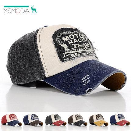 [XSMODA]New 2014 Hot Sale Baseball Cap Brand Letter Retro Hats For Men/Women Summer Outdoor Snapback Hats Vintage Peak Visors(China (Mainland))