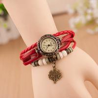 Sen female Korean student bracelet handmade bracelet watch ladies watches wholesale retro auspicious blessing happy tree tree tr