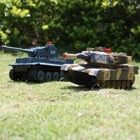 RC Tank Battle Tank Battle Tank model toys model toys Children's toys fitted four-wheel 2