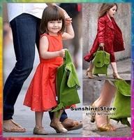 Sunshine store #8z066 4pcs/lot 7color 2013 New Hot selling Manuella Design Long ears 2 shoulder Kid School bag Children Backpack