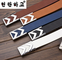 2014 Designer Belts for Men Leather Belt Men Luxury Brand Cinto Masculino Letter Strap Male Metal Buckle