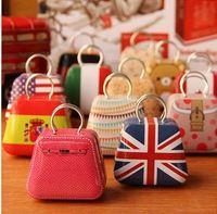 wholesale / free shopping Mini creative handbag box ,Ear line box. 200pieces/lot  , YJ104