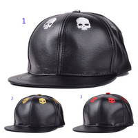 Men Hats Skull Embroidery Baseball Cap Hip-Hop Hat Women Fashion Hat Around Caps Free Shipping 5 PCS