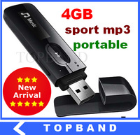2014 Newest 4GB mp3 player with FM-radio Digital Screenc Sport MP3 Music Player 4GB Pen USB Flash Drive Free Shipping