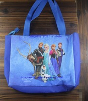 Free shipping! waterproof  Frozen Anna Elsa handbags beach bag children bag shopping totebag-5 set