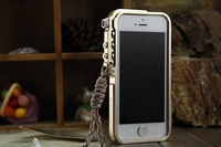 Mechanical Arm Metal Aluminum Bumper Frame Case Tactical Edition for iphone 4 4S/5 5S Free Shipping