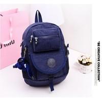 2014 new lovely nylon kip backpack children school bag classics printing backpacks travel bags 8 colors