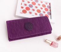 1pcs new fashion kip nylon wallet 10 colors women purse girl wallet daily clutch bags Change Purse kip wallet