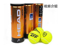 Free Shjpping 9balls Origenal 100% Authentic Brand New ATP Gold Canning Pack Master Tennis Ball Z-229