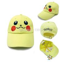 Pocket Monster pokemon pikachu caps sun hats toys free shipping