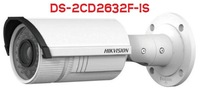 HIKVISION DS-2CD2632F-IS 3MP Vari-focal IR Bullet Camera, english version V5.1.6, Gun Waterproof IP Camera DS-2CD2632F-IS