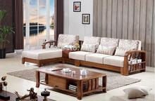 wooden sofa set wood sofa set for home(China (Mainland))