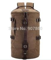 free ship !! Men's backpack Female college students wind bag computer bag bag