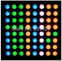 5MM full-color dot matrix 2388RGB 60.5 * 60.5MM 8 * 8 multicolour 3pcs/lot Free shipping