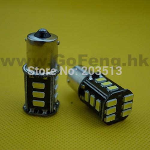 Задние поворотники GFG 10pcs/lot 1156 18 SMD 5630 BA15S 18SMD