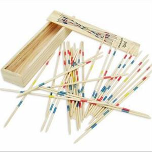 New 2014 Traditional Wooden Pick Up Sticks Toys For Kids/Children Toys Hobbies/Novetly Gift for Kids(China (Mainland))