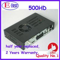 2pc/lot Satellite TV Receiver DM500hd DVB-S Sim2.10 500hd DM500 HD Satellite Receiver Linux Decoder 400mhz CPU Free Shipping