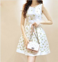 2014 New Arrival Summer And Spring women Casual dresses lady dress plus size new designer Dress