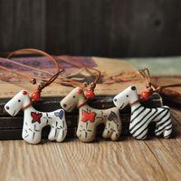 Handmade accessories necklace cartoon pattern pure matt yarn mill quality