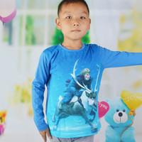 2-5T Long Sleeve Boy Frozen T-Shirts Children Frozen Clothing for Boys Boy Tshirt Cotton Hoody  1pcs Free Shipping TYT-1440
