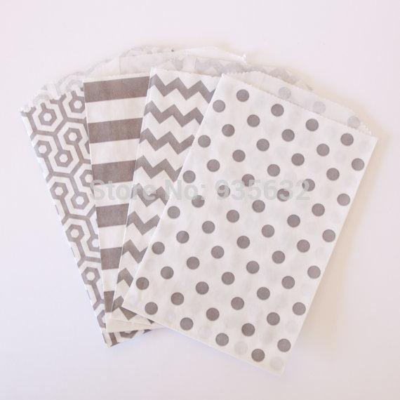 500pcs/lot Gift Packing Mini Paper Bag(China (Mainland))