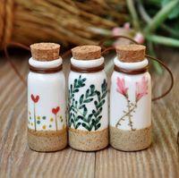 Ceramic bottle pure bottle handmade perfume bottle