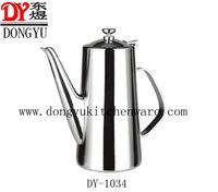 1.5L High Quality Mirror Polished  Stainless Steel Water Kettles DY-1034 ,Stainless Steel Kitchenware Promotion Gifts Supplier