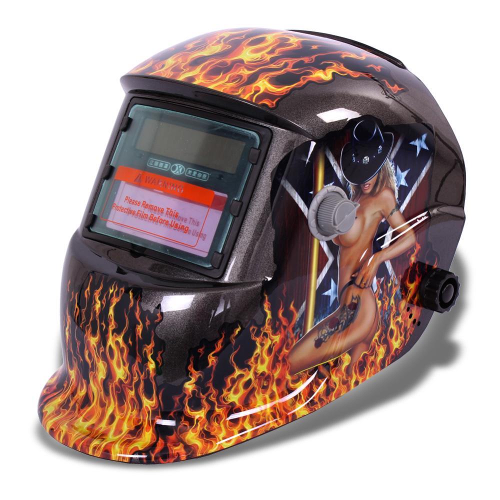 Pro solar-auto verdunkelung schweißhelm wig mig lichtbogen zertifiziert maske schleifen neuen
