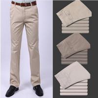 2014 New Comes hot sale  New Style men 's Fashion 100% Cotton  pants casual trousers, men's pants Three Colors 1pc/lot