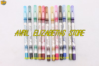 M.N 12 Color Eyeliner Pen Eye/Lipliner Pencil 1Bag=1Lot =12pc =12 Color Waterproof Eyeliner Pencil Free Shipping 12PC/LOT