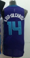 Wholesale Cheap,#14 Michael Kidd-Gilchrist Men's Blue 2014 New jersey Basketball Jerseys Sale,Sewing logos