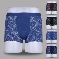 Super popular , 2014    Bamboo fiber man High-grade bamboo pulp fiber gas suction wet pants Printing U convex