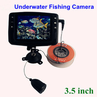 3.5 inch monitor Color underwater fishing video camera with 15m Cable