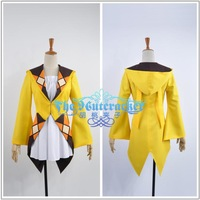 Free shipping 2014 New arrival custom made Anime Black Bullet  Dress Cosplay Costume