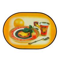 Fashion Holder Kitchen Tableware Coffee Pat Dinning Table Mat  bowl Tea Placemat  12pcs set