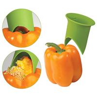 Nordic Nylon Pepper Corer Tomato Corer Creative Kitchen Tools Random Color Free Shipping