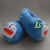 "New 11"" 28cm Home Adult Soft Doraemon Plush Slipper"