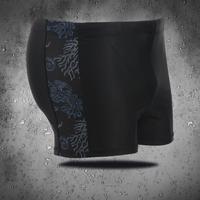 2014 new men's boxer swim trunks hippocampus plus fertilizer XL sexy fashion men's swimwear free shipping