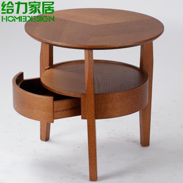 이케아 단단한 나무 커피 테이블 작은 커피 테이블 패션 전화 몇 ...