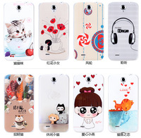 New Arrival 100% Quality Soft Silicone Case for Lenovo A850 Case TPU Cover  Free Shipping