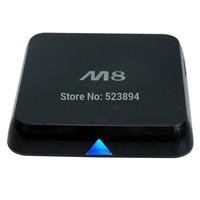 FREESHIPPING NEW 2014 Amlogic8726 M8 S802 Quad Core Android 4.4 Smart TV Box XBMC 4K HDMI 2.0GHz 2GB 8GB Bluetooth Media Player