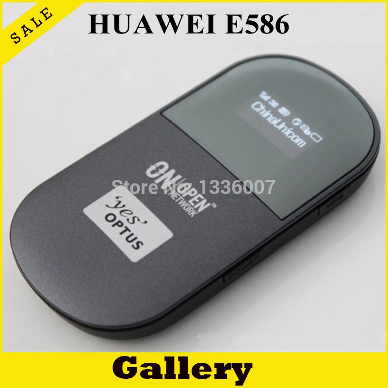 Unlock HSPA+ 21.6Mbps HUAWEI Portable 3G WiFi Router,3G Mobile WiFi Router,3G Router HUAWEI E586(China (Mainland))