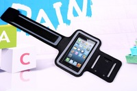 Sport Armband Bag For iPhone5G/5S/5C Colored Rubber Running Sports Mobile Phone Arm Band Armlet For iPhone 4 4G FREE SHIPPING