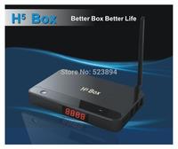 FREESHIPPING NEW 2014 H5 Android 4.2 TV Box RK3188 Quad Core Smart TV Player IPTV 2GB/16GB Bluetooth 2.4G/5G WIFI XBMC HDMI