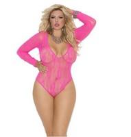 XL/XXL/XXXL/4XL Promotion 2014 Hot Sexy Lingerie Costumes Lace Underwear Plus Size Sleepwear Set Babydoll Pajamas For Women