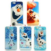 Cute Frozen Snow Man Olaf Popular 3D Cartoon Movie Frozen Hard Plastic Case Cover For iPhone 4 4s 5 5g 5s 5c