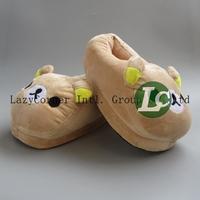 "ESM Free Shipping 11"" 28cm Rilakkuma Plush Slippers Indoor Slippers 50pcs/lot Hot Sale"