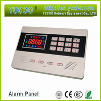 Free shipping wireless home security GSM alarm system with pcs window/door sensor +  PIR sensor +  remote 900/1800MHZ